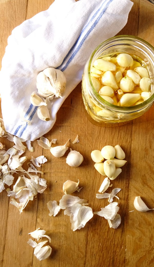 Fermented Garlic In Honey is one step and a little patience. A healthy way to make any garlic recipe unique! peelwithzeal.com