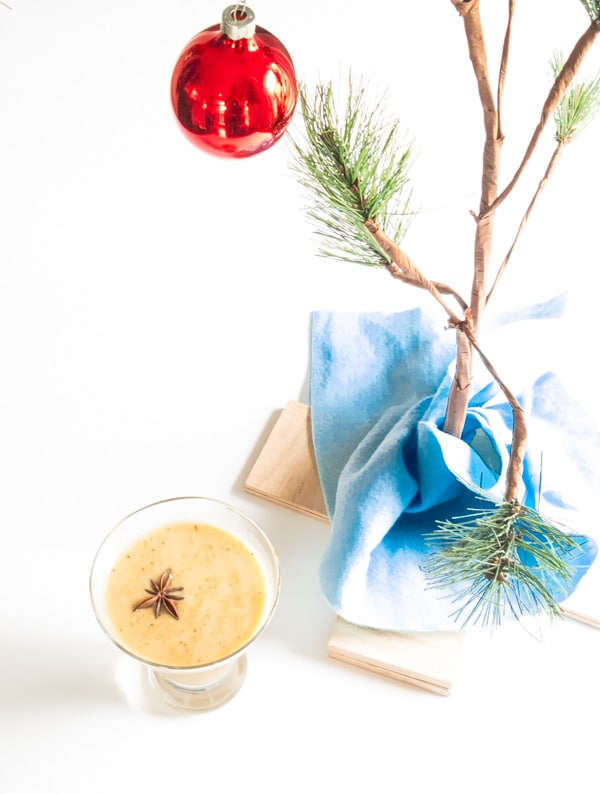 Classic Eggnog- Gluten, Dairy & Sugar Free. This simple recipe is easy to make and taste like the real thing without all the calories. peelwithzeal.com