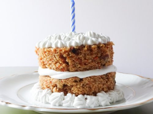 Healthy Carrot Cake With Maple Frosting Peel With Zeal