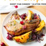pork chop sheet pan dinner pinterest recipe