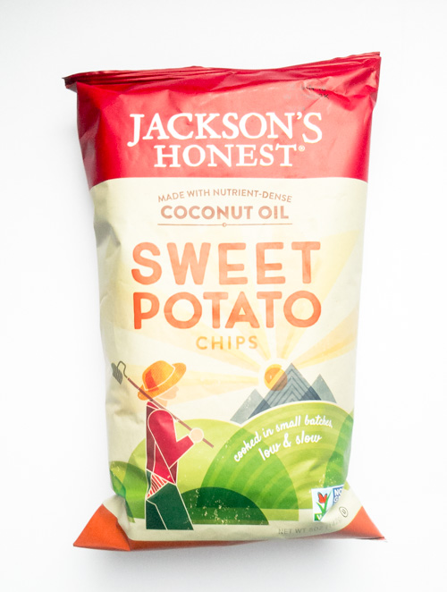 sweet potato chip bag