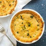 gluten dairy free individual chicken pot pie recipe
