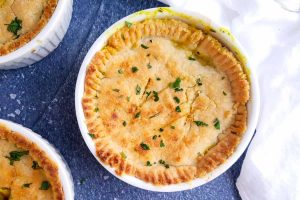 baked chicken pot pie