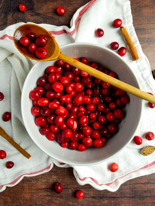 roasted cranberries recipe