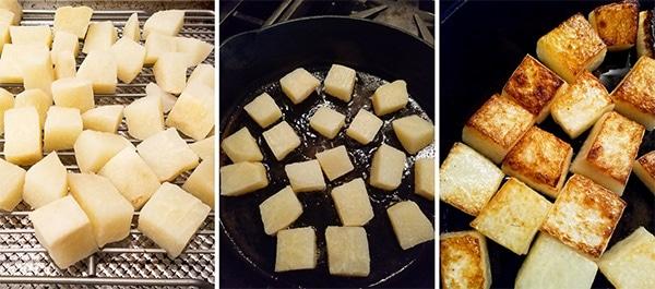 how to fry jicama