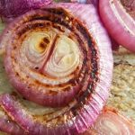 easy roasted red onions