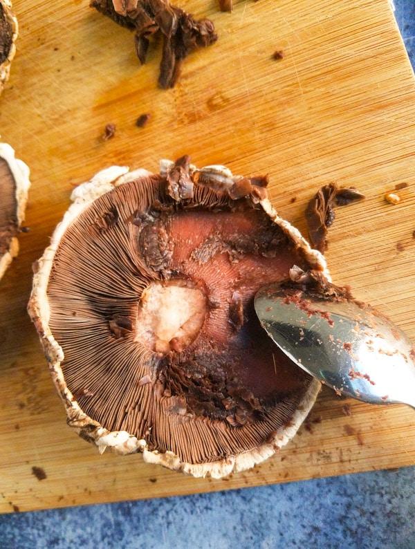 baked mushroom