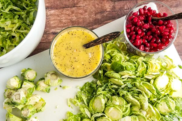 brussels sprout salad ingrediants