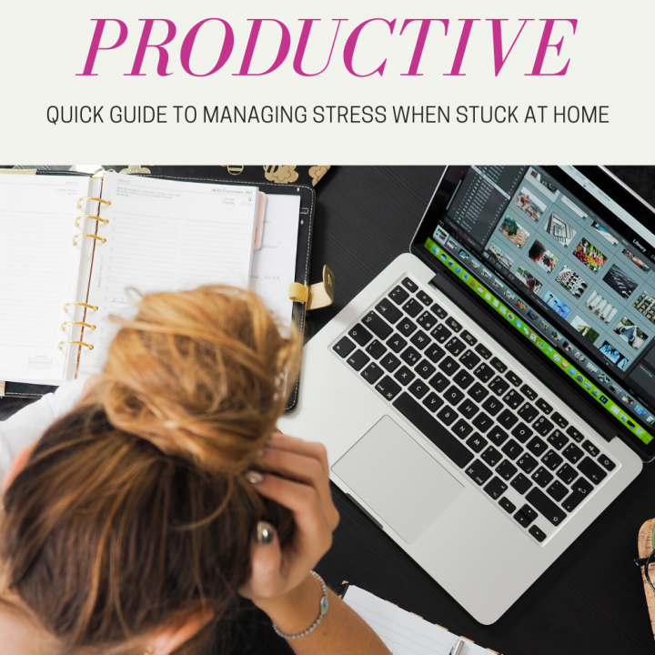 pin promoting productivity featuring women bent over computer