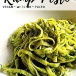 ramp pesto recipe for pinterest