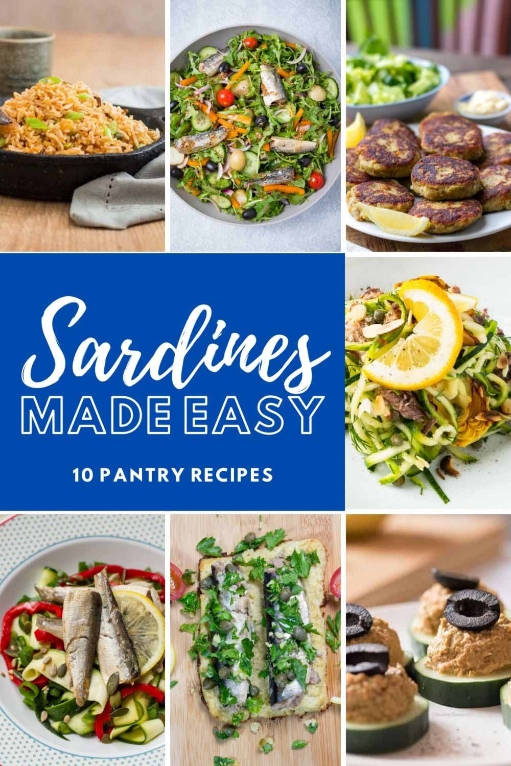 All About Sardines + 10 Easy Recipes