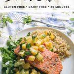 quick and easy salmon recipe graphic