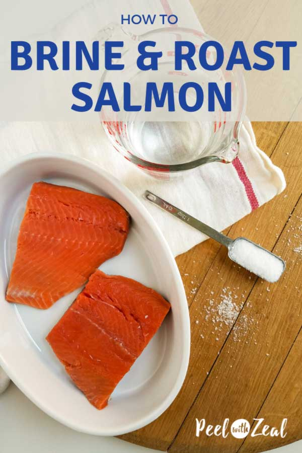 how to brine salmon graphic