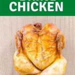 how to brine chicken graphic for pinterest