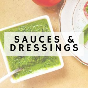 Sauces and Salad Dressings