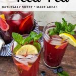 flavored iced tea recipe for pinterest