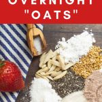 grain free overnight oats recipe for pinterest