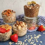overnight oats recipes in jars