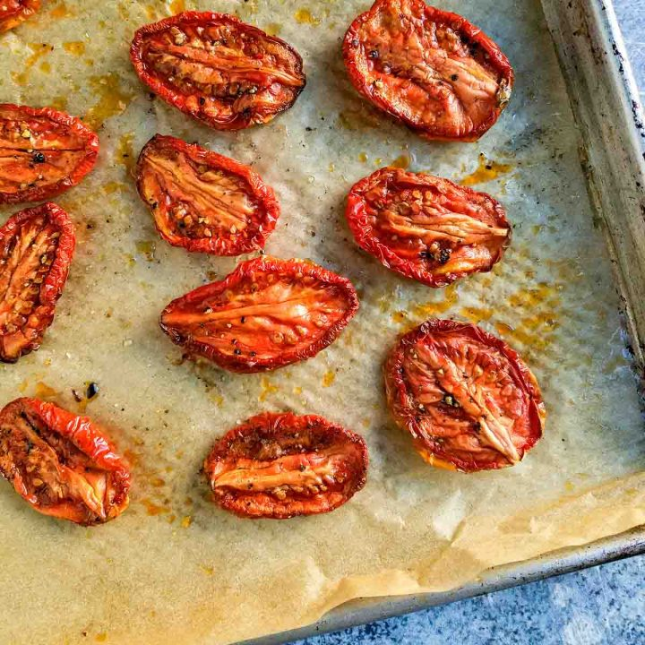 easy slow roasted tomatoes recipe