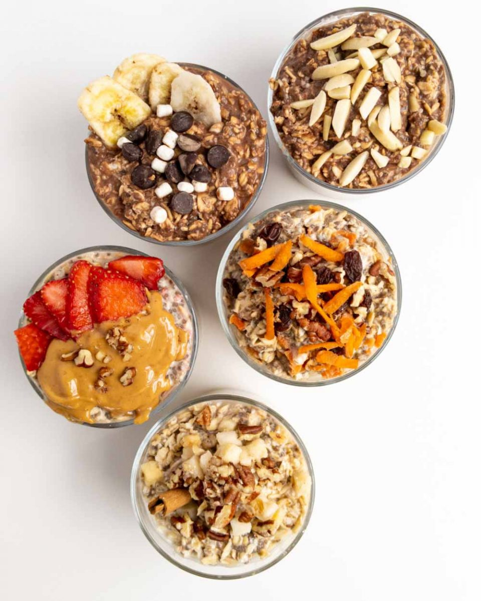superfoods oatmeal recipes made in jars