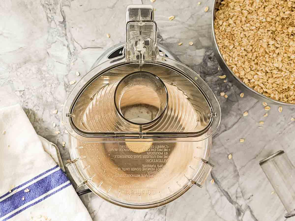 making oats in a food processor