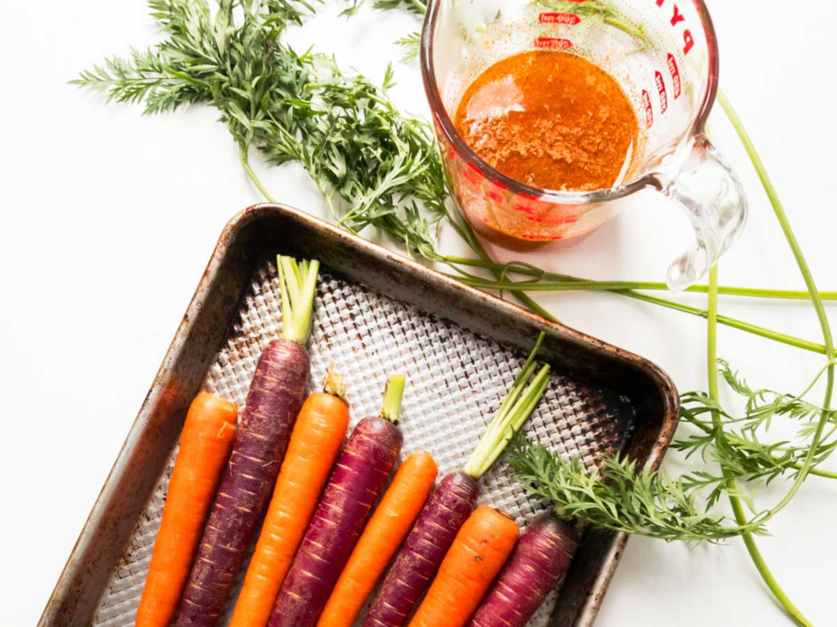 carrots wit marinade