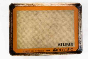 silpat lined baking sheet