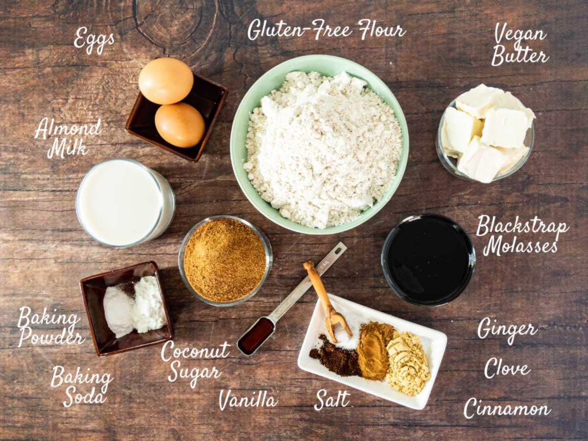 gluten free spice cake ingredients