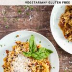 vegetarian risotto recipe for pinterest