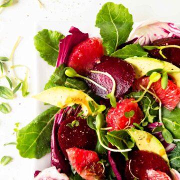winter brunch salad