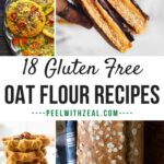 round up photo of oat flour recipes
