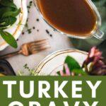 gluten free turkey gravy
